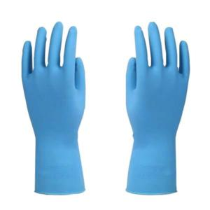 0127 Blue Household Rubber Gloves