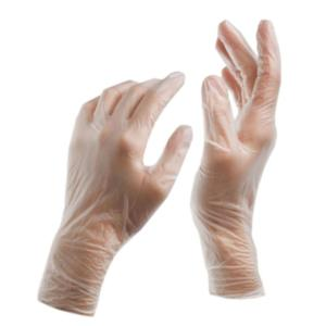 0174 Clear Powder-Free Vinyl Disposable Gloves