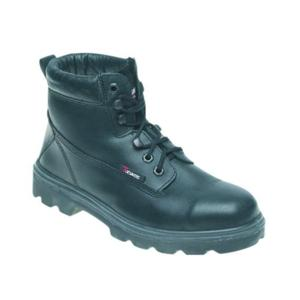 1100 BLACK Black Boot With Midsole