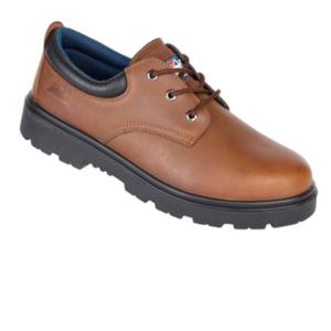 1411 S3 Brown Padded Safety Shoe