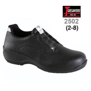 2502 Black Microfibre Ladies S1 Shoe
