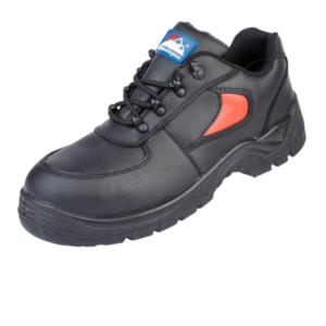 3413 Unisex Black and Red Safety Trainer