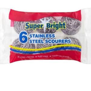 S-408453 Stainless Steel Pan Scourer