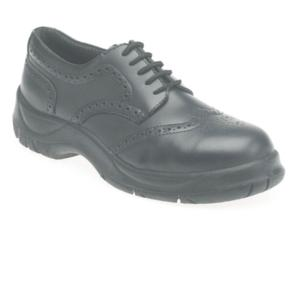410 Black Brogue S1P Shoe