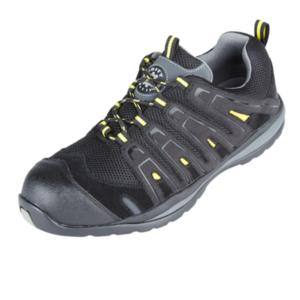 4208 Falco Black Yellow Trainer