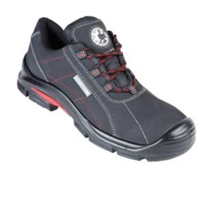 4209 ASIO Black Metal Free Safety Trainer