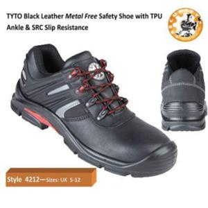 4212 Tyto Black metal free safety shoe
