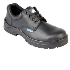 5113 Black Non-metal Toecap Shoe