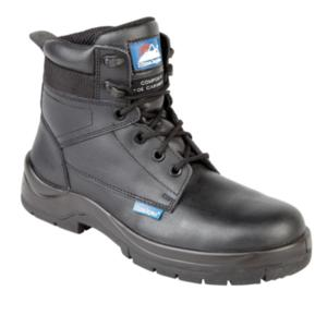 5114 Black Non Metal Toecap Boot