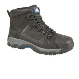 5206 Black S3 Heavy Duty Ankle Safety Boot
