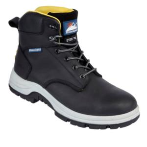 5240 PU Rubber Black Safety Boot