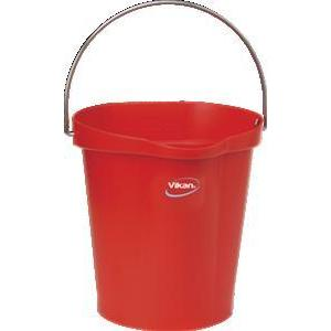 5686 12L Metal handled Bucket with spout