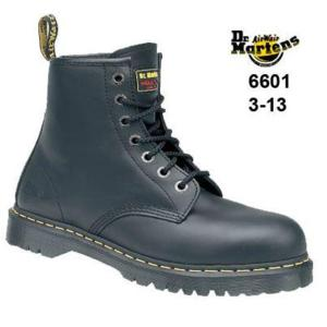 6601 Black Dr Martens Boot