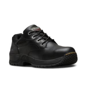 6675 Calvert Steel Toe Black Shoe