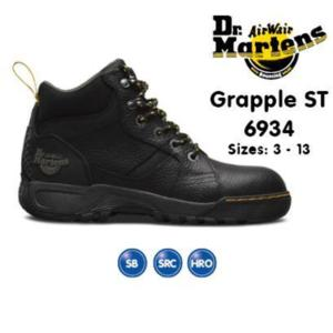 6934 Black Grapple chukka Boot