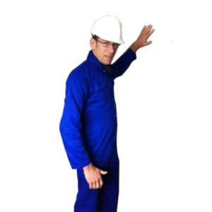 707-T/C-ROYAL Polyester Cotton Studded Boilersuit