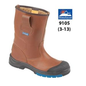 9105 Hygrip Brown S3 lined rigger