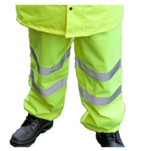 CPHVOTY High-Visibility Yellow Overtrousers