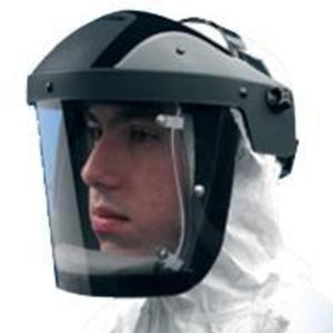 S-M25/1002N Airfed Visor Headpiece