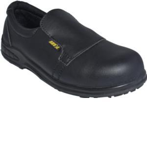 Ontario Black Slip On Safety Shoes