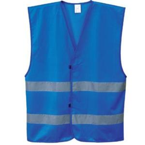F474 ROYAL Reflective Striped Vest