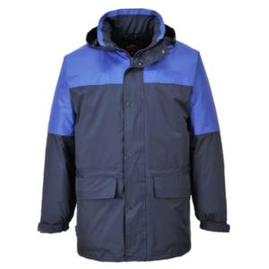 S523 - NAVY/ROYAL Oban Lined Anorak