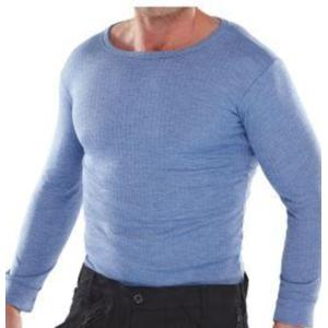 THVLS L/S VEST Long-Sleeved Blue Thermal Vest