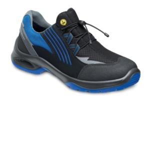 VD9600 ESD Blue Black Nubuck Trainer