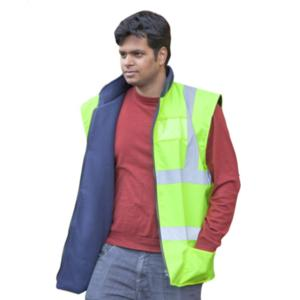 CPHVBWY Yellow High-Visibility Bodywarmer