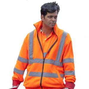 CPHVFO High-Visibility Fleece