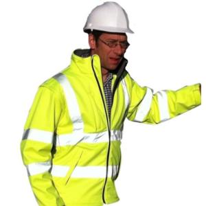 CPHVSOFTJ High-Visibility Soft Shell Jacket