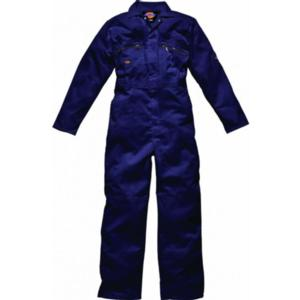 WD4839 Navy Zip Boilersuit with Zipped pockets