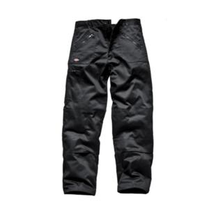 WD814 Black Black Redhawk Action Trousers
